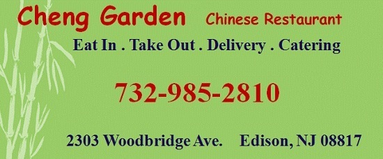 Cheng Garden Chinese Restaurant in Edison-Eat In, Take Out, Delivery ...